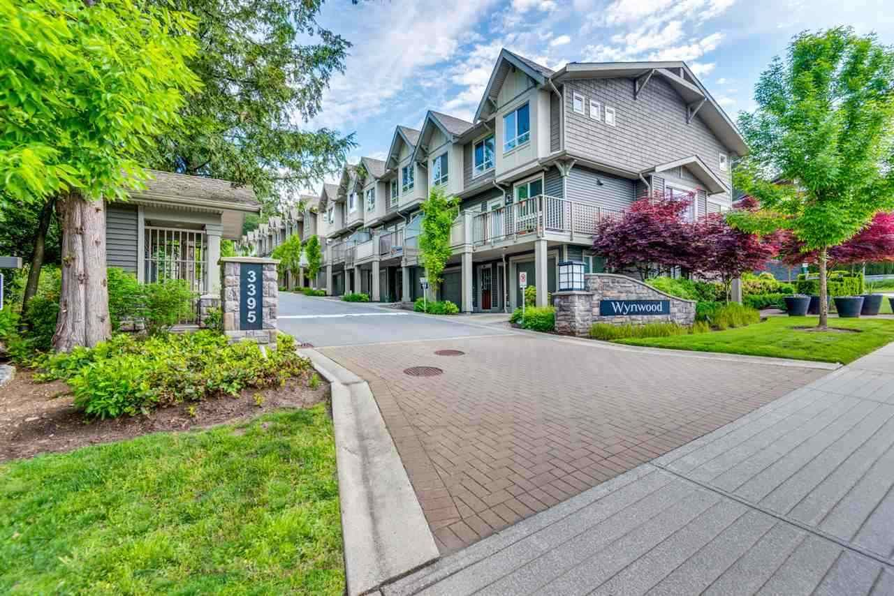 """Main Photo: 9 3395 GALLOWAY Avenue in Coquitlam: Burke Mountain Townhouse for sale in """"Wynwood"""" : MLS®# R2389114"""