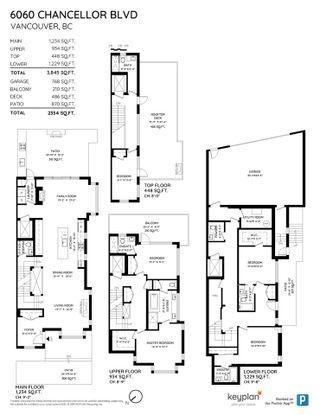 Photo 40: 6060 CHANCELLOR BOULEVARD in Vancouver: University VW 1/2 Duplex for sale (Vancouver West)  : MLS®# R2577712