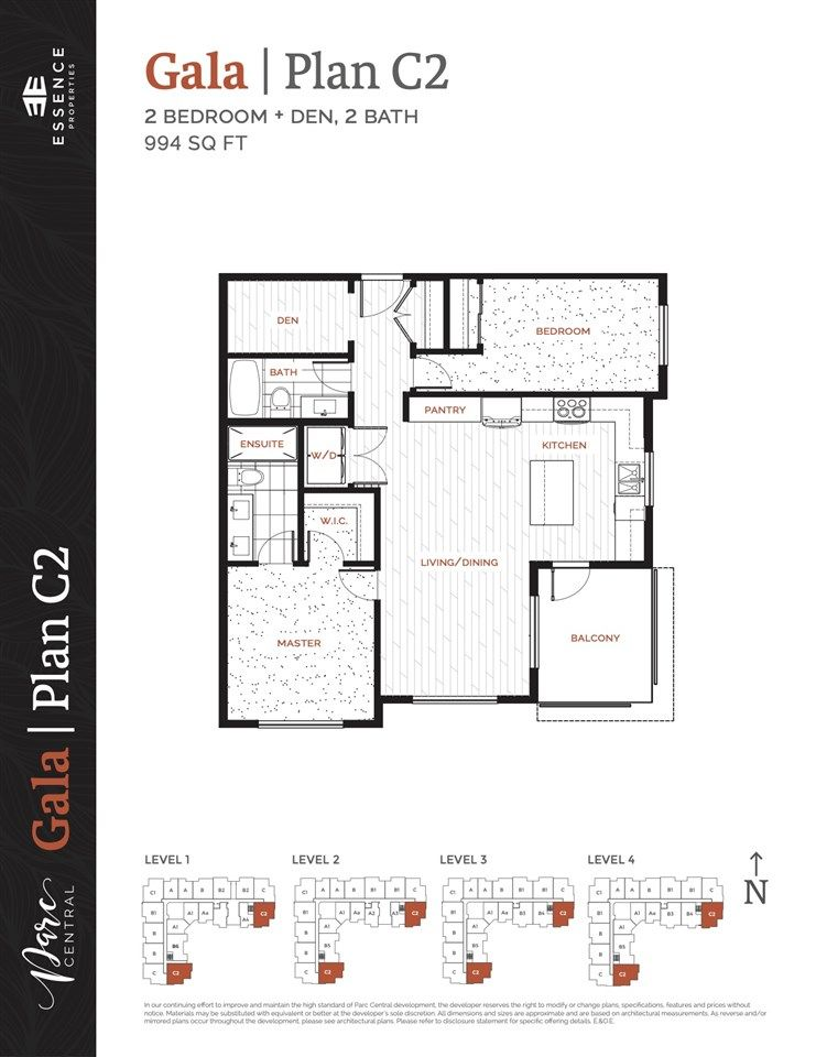 """Photo 17: Photos: 217 20356 72B Avenue in Langley: Willoughby Heights Condo for sale in """"Gala"""" : MLS®# R2552484"""