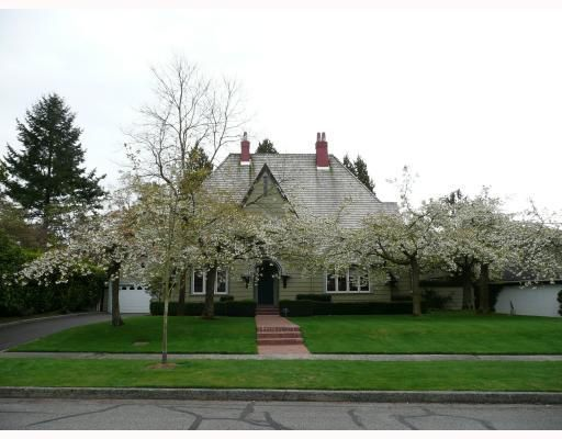 Main Photo: 1636 Avondale Avenue in Vancouver: Home for sale : MLS®# V711526