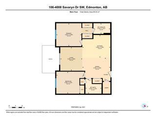Photo 42: 106 4008 SAVARYN Drive in Edmonton: Zone 53 Condo for sale : MLS®# E4236338