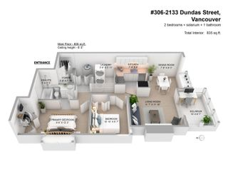 """Photo 18: 306 2133 DUNDAS Street in Vancouver: Hastings Condo for sale in """"Harbour Gate"""" (Vancouver East)  : MLS®# R2614513"""