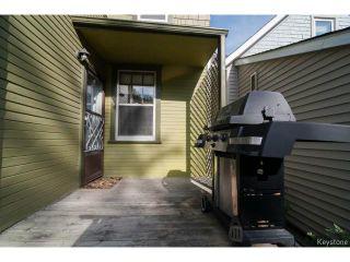 Photo 18: 508 Craig Street in WINNIPEG: West End / Wolseley Residential for sale (West Winnipeg)  : MLS®# 1420307