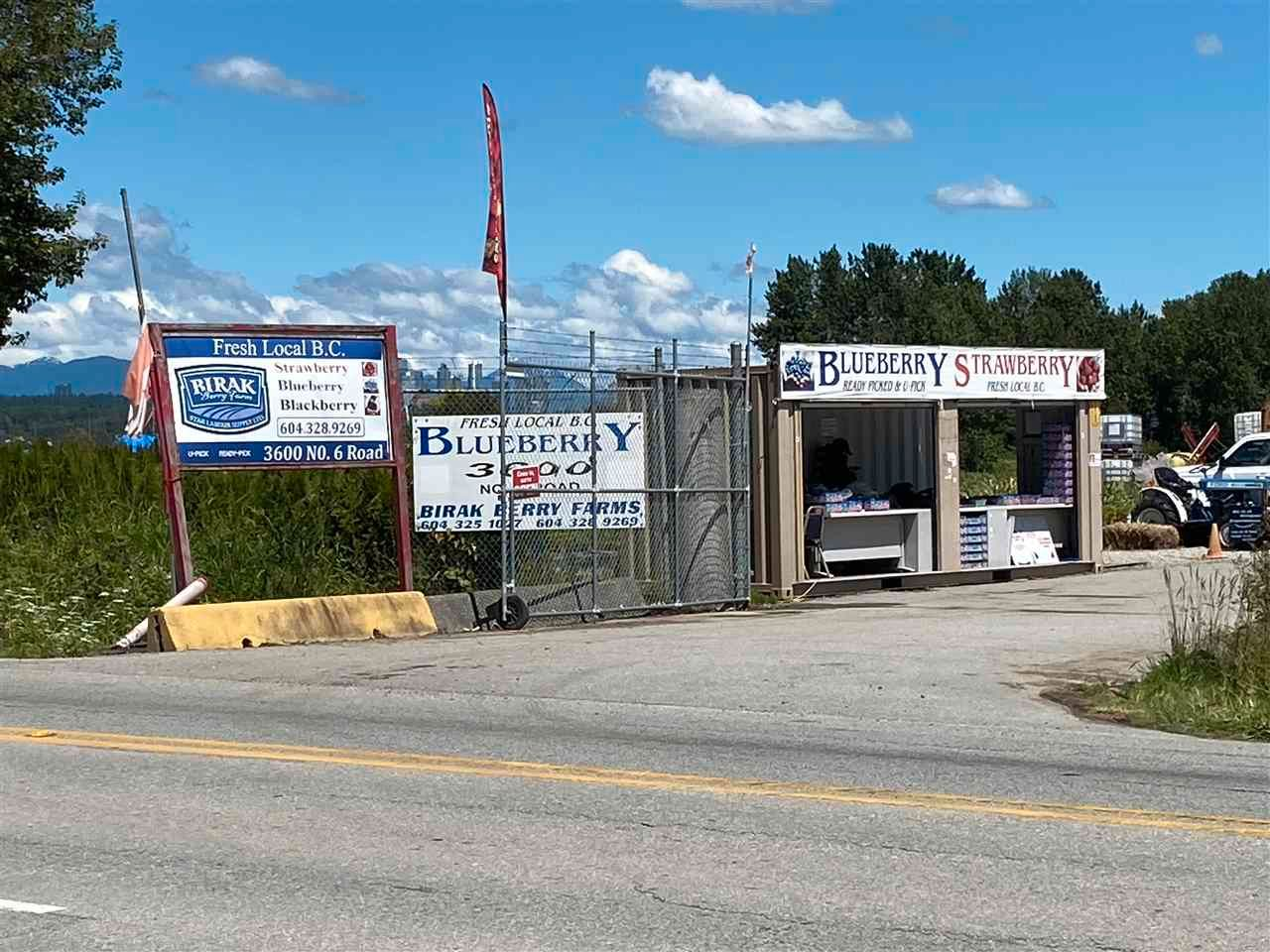 Main Photo: 3600 NO. 6 Road in Richmond: East Richmond Agri-Business for sale : MLS®# C8038837