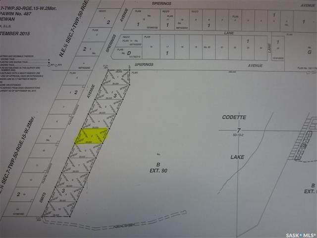 Main Photo: 5 Smits Avenue in Codette: Lot/Land for sale : MLS®# SK834455