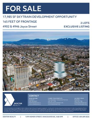 Photo 1: 4902 & 4946 Joyce Street in Vancouver: Collingwood VE Multi-Family Commercial for sale (Vancouver East)