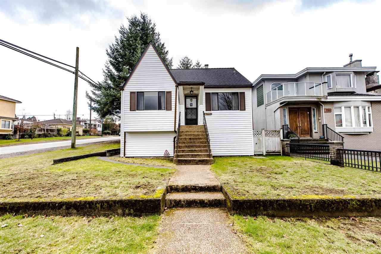Main Photo: 2796 E 16TH Avenue in Vancouver: Renfrew Heights House for sale (Vancouver East)  : MLS®# R2435685