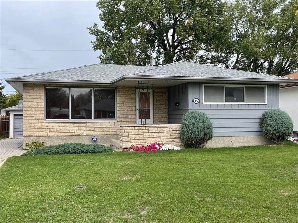 Main Photo: 15 Alguire Avenue in Winnipeg: Crestview Residential for sale (5H)  : MLS®# 202123190
