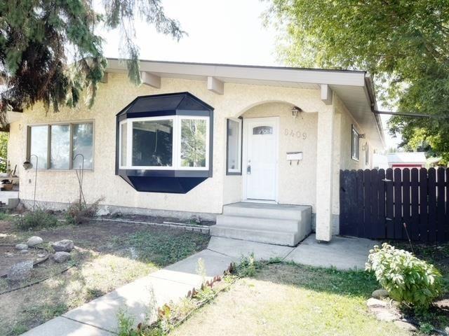 Main Photo: 6409 90 Avenue in Edmonton: Zone 18 House Half Duplex for sale : MLS®# E4260058