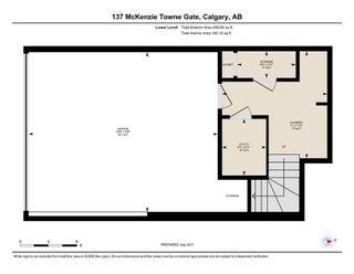 Photo 28: 137 Mckenzie Towne Gate SE in Calgary: McKenzie Towne Row/Townhouse for sale : MLS®# A1145906