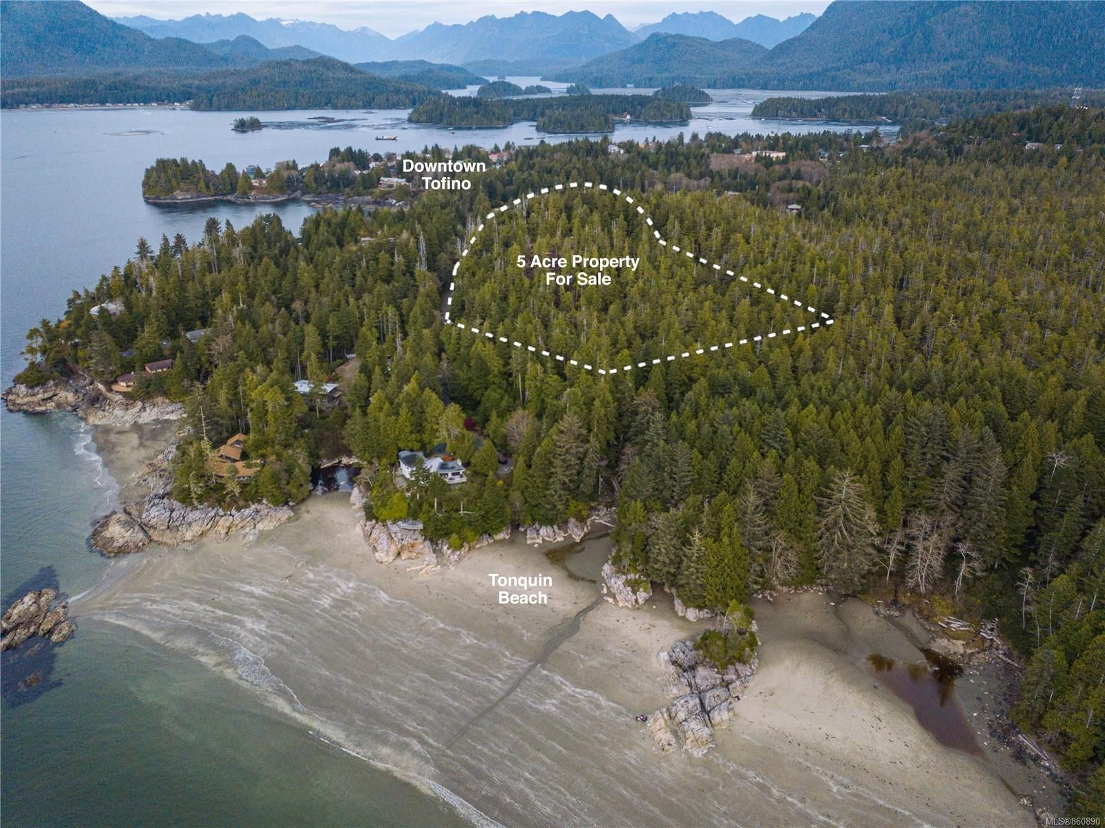 Photo 1: Photos: LOT 1 Tonquin Park Rd in : PA Tofino Land for sale (Port Alberni)  : MLS®# 860890
