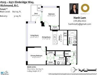 "Photo 21: 203 6971 ELMBRIDGE Way in Richmond: Brighouse Condo for sale in ""Ora"" : MLS®# R2617627"