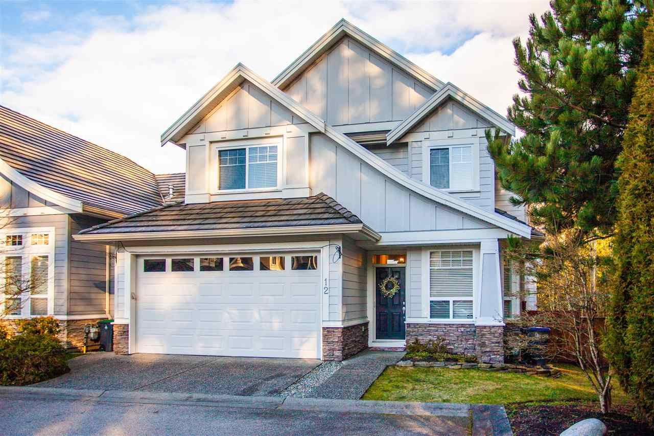 """Main Photo: 12 3502 150A Street in Surrey: Morgan Creek Townhouse for sale in """"Barber Creek Estates"""" (South Surrey White Rock)  : MLS®# R2536793"""