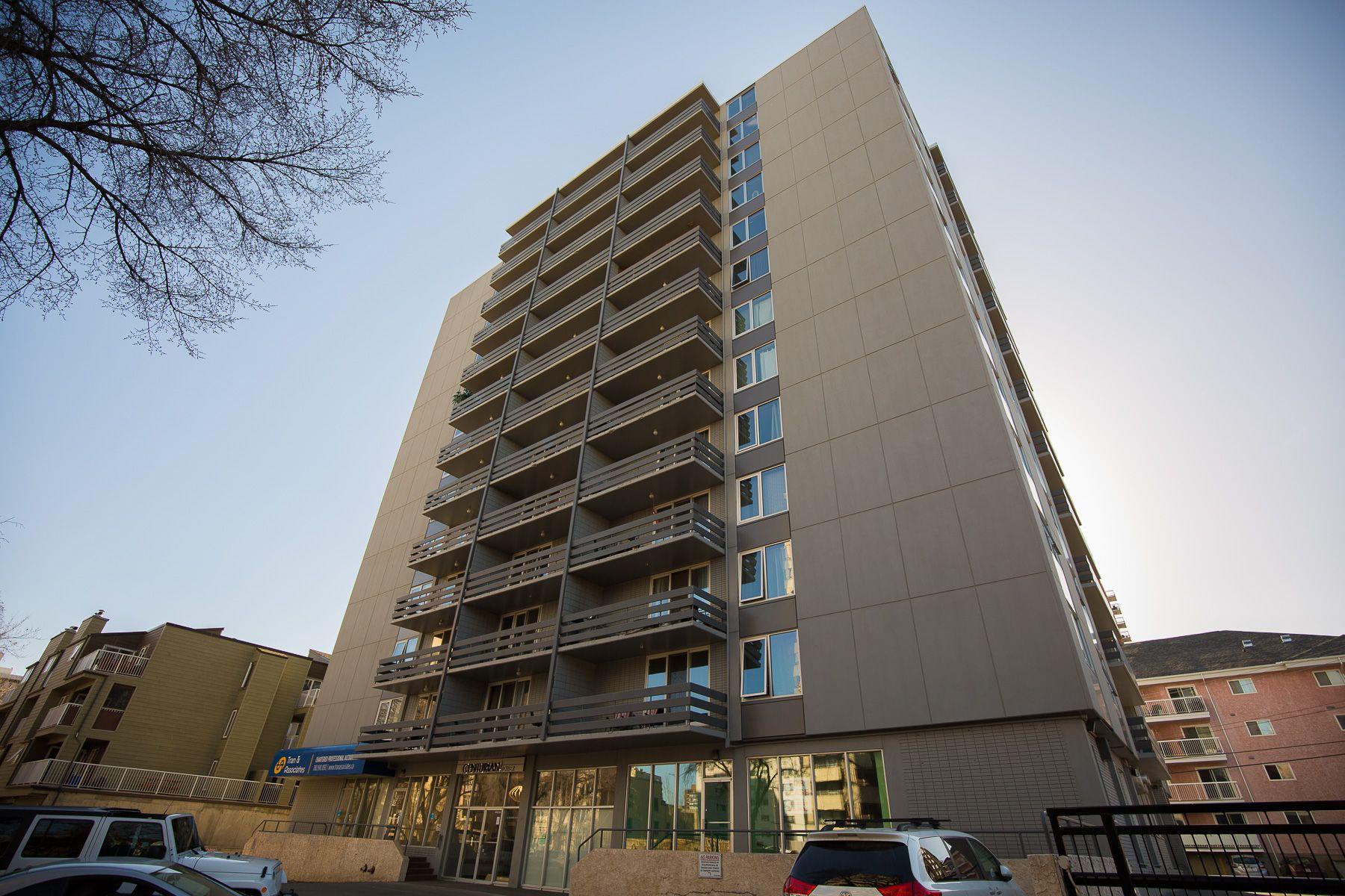 Main Photo: 1003 10160 116 Street NW in Edmonton: Oliver Condo for sale : MLS®# E4152256