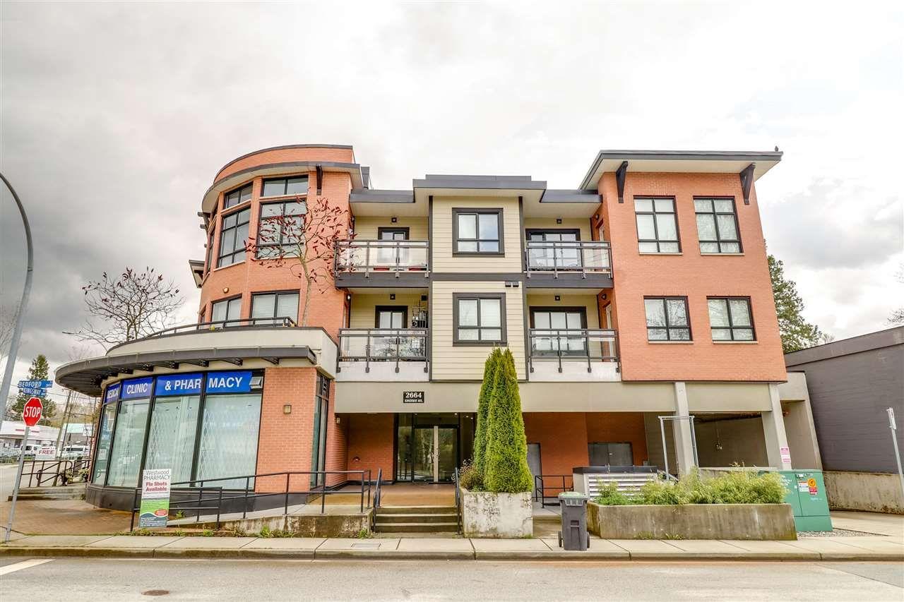 "Photo 1: Photos: 305 2664 KINGSWAY Avenue in Port Coquitlam: Central Pt Coquitlam Condo for sale in ""KINGSWAY GARDENS"" : MLS®# R2259972"