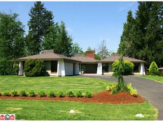 Photo 1: 2661 SHEFIELD Way in Abbotsford: Central Abbotsford House for sale : MLS®# F1100113