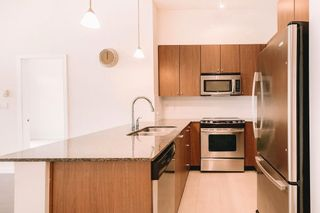 """Photo 3: 407 225 FRANCIS Way in New Westminster: Fraserview NW Condo for sale in """"THE WHITTAKER"""" : MLS®# R2621652"""