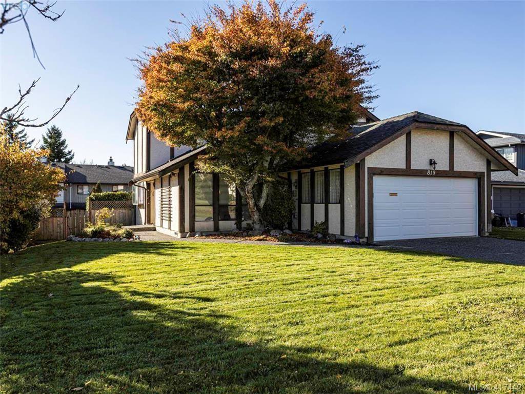 Main Photo: 819 Pepin Pl in VICTORIA: SW Northridge House for sale (Saanich West)  : MLS®# 828187