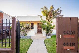Photo 2: NORMAL HEIGHTS Property for sale: 4418-20 37th St in San Diego