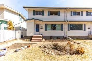 Photo 1: 4807 106 Street in Edmonton: Zone 15 House Half Duplex for sale : MLS®# E4238304