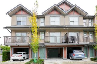 """Photo 1: 80 7121 192 Street in Surrey: Clayton Townhouse for sale in """"Allegro"""" (Cloverdale)  : MLS®# R2020616"""