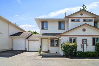 """Photo 1: 5 26727 30A Avenue in Langley: Aldergrove Langley Townhouse for sale in """"ASHLEY PARK"""" : MLS®# R2590805"""
