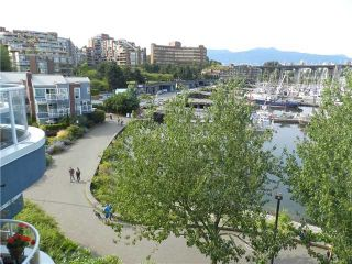"""Photo 4: 101 1550 MARINER Walk in Vancouver: False Creek Condo for sale in """"MARINER POINT"""" (Vancouver West)  : MLS®# V976624"""