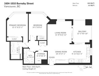 """Photo 19: 1604 1010 BURNABY Street in Vancouver: West End VW Condo for sale in """"THE ELLINGTON"""" (Vancouver West)  : MLS®# R2577467"""