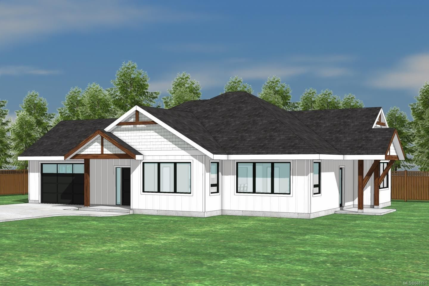 Main Photo: LOT 2 Wembley Rd in Parksville: PQ Parksville House for sale (Parksville/Qualicum)  : MLS®# 888111