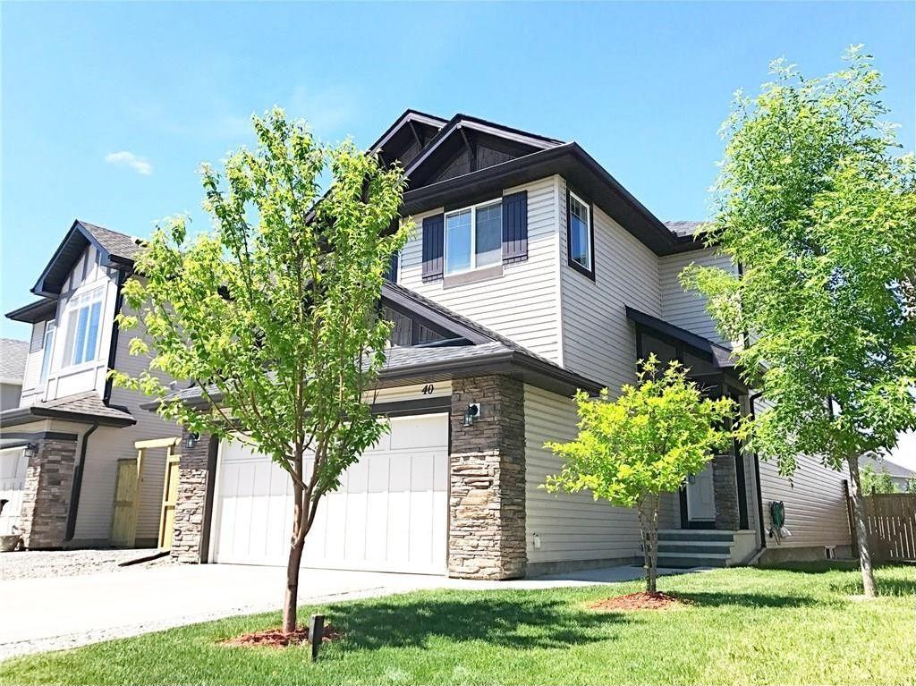 Main Photo: 40 BRIGHTONCREST Common SE in Calgary: New Brighton House for sale : MLS®# C4124856