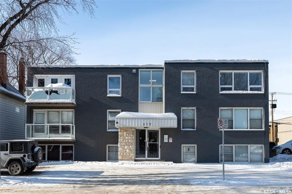 Main Photo: 203 415 3rd Avenue North in Saskatoon: City Park Residential for sale : MLS®# SK842025
