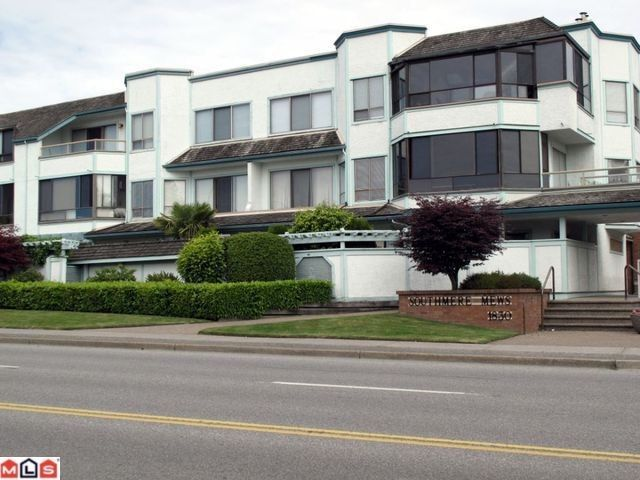 "Main Photo: 302 1830 E SOUTHMERE Crescent in Surrey: Sunnyside Park Surrey Condo for sale in ""Southmere Mews"" (South Surrey White Rock)  : MLS®# F1017753"