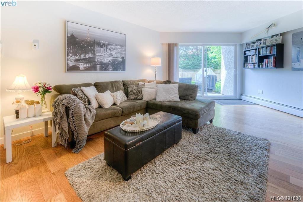 Main Photo: 102 3800 Quadra St in VICTORIA: SE Maplewood Condo for sale (Saanich East)  : MLS®# 835010