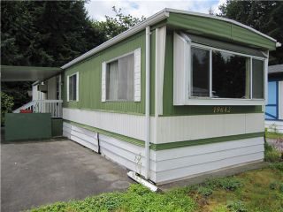 """Photo 1: 79 19642 PINYON Lane in Pitt Meadows: Central Meadows Manufactured Home for sale in """"MEADOW HIGHLANDS"""" : MLS®# V1069801"""
