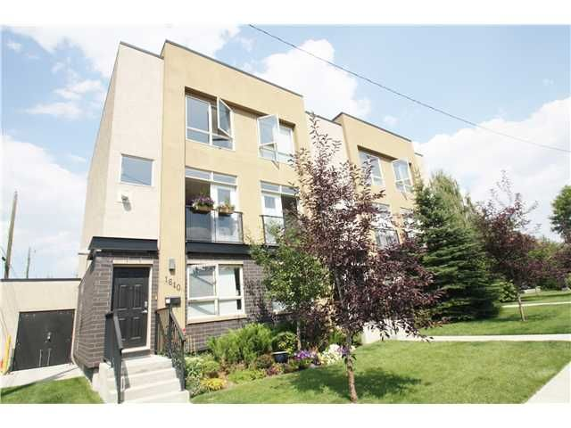 Main Photo: 1610 36 Avenue SW in Calgary: Altadore_River Park Townhouse for sale : MLS®# C3631396