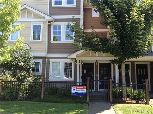 Main Photo: 207 2695 Deville Rd in VICTORIA: La Langford Proper Row/Townhouse for sale (Langford)  : MLS®# 647976