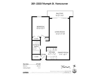 """Photo 19: 201 2333 TRIUMPH Street in Vancouver: Hastings Condo for sale in """"LANDMARK MONTEREY"""" (Vancouver East)  : MLS®# R2572979"""