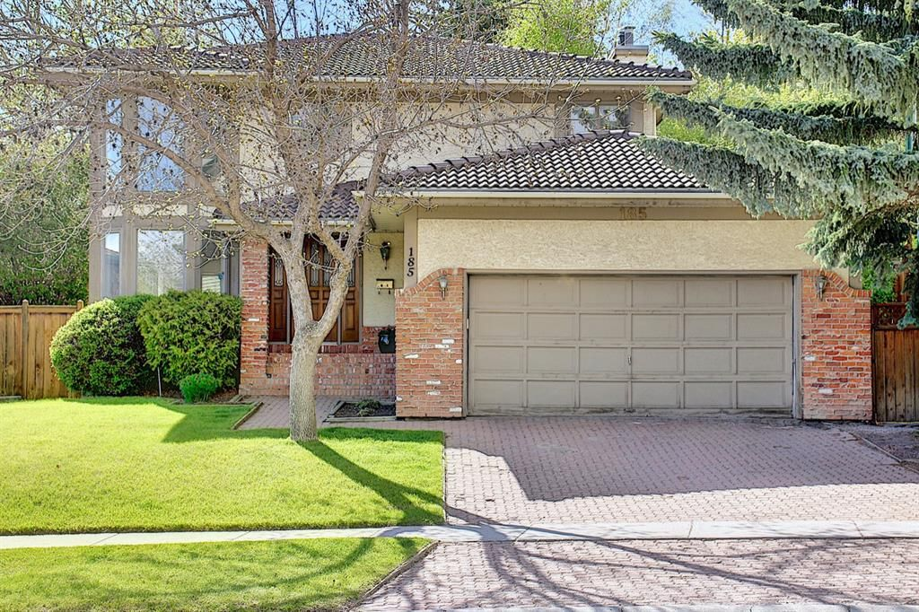 Main Photo: 185 Strathcona Road SW in Calgary: Strathcona Park Detached for sale : MLS®# A1113146