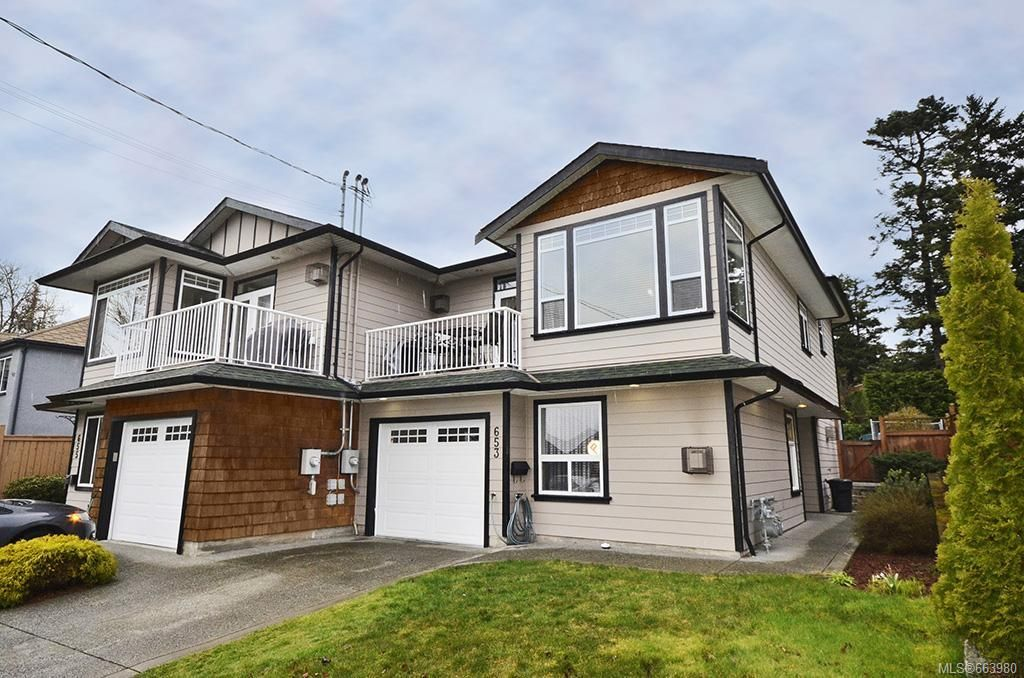 Main Photo: 653 Grenville Ave in : Es Rockheights Half Duplex for sale (Esquimalt)  : MLS®# 663980