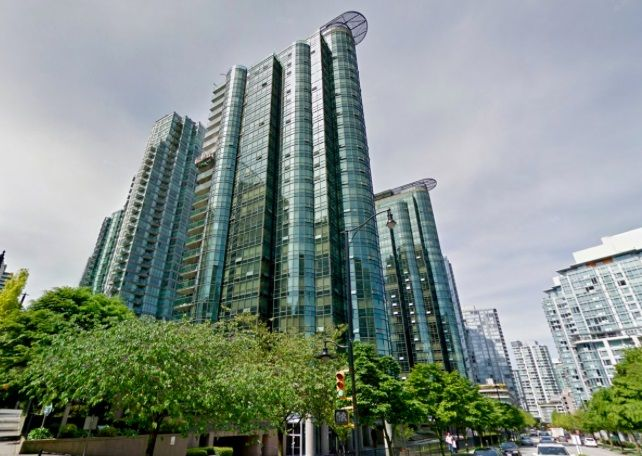 Main Photo: 2008 555 JERVIS STREET in Vancouver: Coal Harbour Condo for sale (Vancouver West)  : MLS®# R2193199
