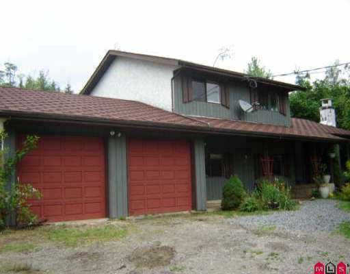 Main Photo: 32509 DEWDNEY TRK Road in Mission: Mission BC House for sale : MLS®# F2613283