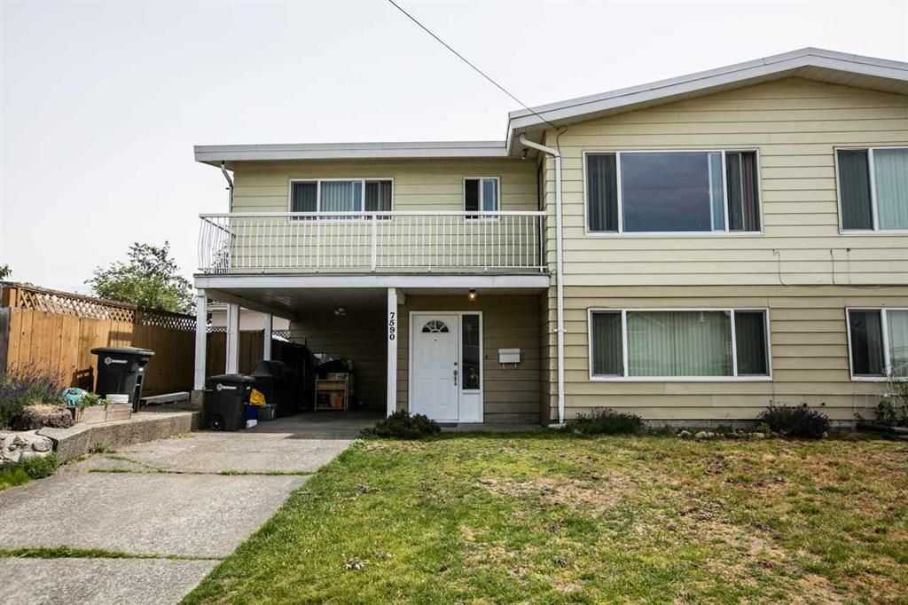 Main Photo: 7590 DAVIES Street in Burnaby: Edmonds BE 1/2 Duplex for sale (Burnaby East)  : MLS®# R2107790