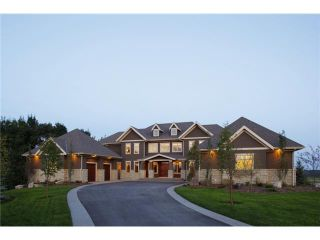 Photo 1: 20 Grandview Rise in CALGARY: Rural Rocky View MD Residential Detached Single Family for sale : MLS®# C3456497