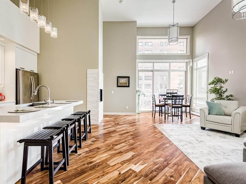 Main Photo: 406 1029 15 Avenue SW in Calgary: Beltline Apartment for sale : MLS®# A1086341
