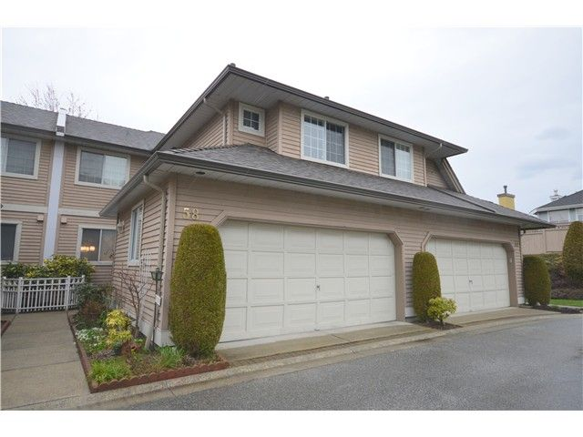 """Main Photo: 58 2615 FORTRESS Drive in Port Coquitlam: Citadel PQ Townhouse for sale in """"ORCHARD HILL"""" : MLS®# V1054893"""