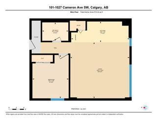 Photo 29: 101 1027 Cameron Avenue SW in Calgary: Lower Mount Royal Apartment for sale : MLS®# A1062021