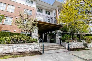 "Main Photo: 104 995 W 59TH Avenue in Vancouver: South Cambie Condo for sale in ""CHURCHILL GARDEN"" (Vancouver West)  : MLS®# R2564871"