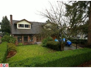 Photo 1: 6030 172A Street in Surrey: Cloverdale BC House for sale (Cloverdale)  : MLS®# F1101552