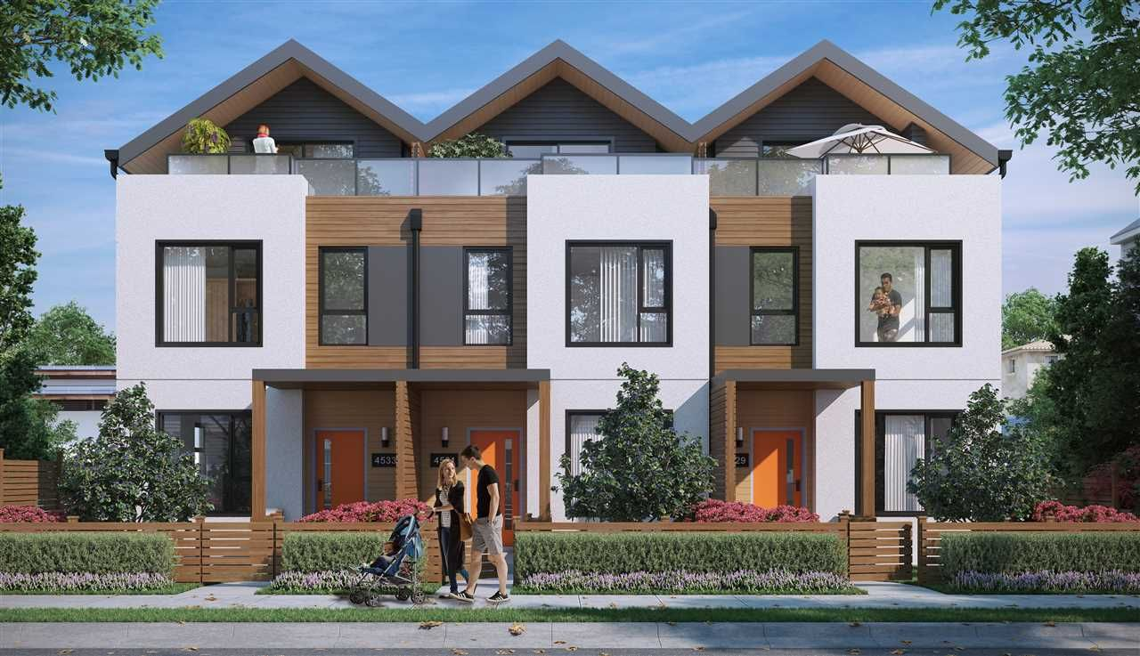 """Main Photo: 4527 EARLES Street in Vancouver: Collingwood VE Townhouse for sale in """"EARL"""" (Vancouver East)  : MLS®# R2252367"""