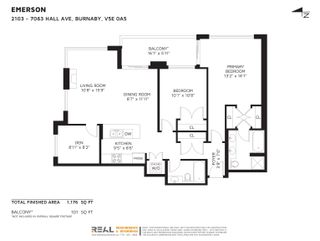 """Photo 2: 2103 7063 HALL Avenue in Burnaby: Highgate Condo for sale in """"Emerson by BOSA"""" (Burnaby South)  : MLS®# R2624615"""